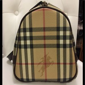 Burberry Bags - Authentic Burberry haymarket bag